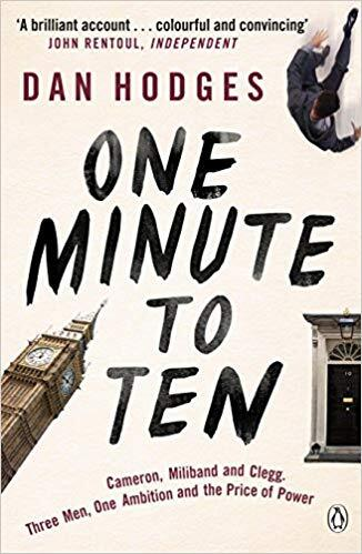 One Minute to Ten: Cameron, Miliband and Clegg